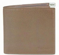 Barbour Brown Grain Leather Wallet - (A17) - MAC0180BR71